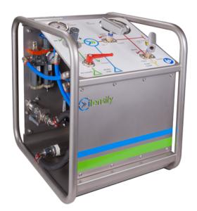 CPA portable high pressure test unit Itensify